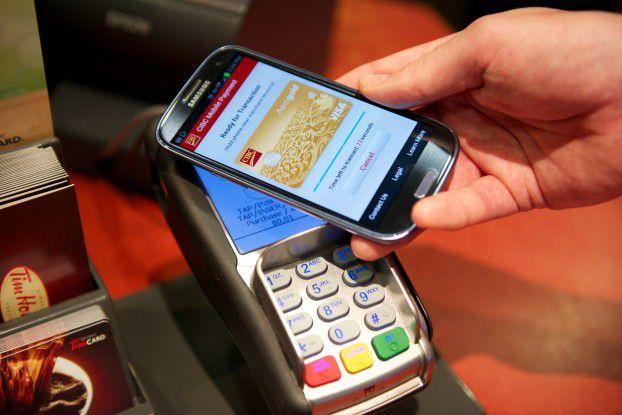 Die Bezahl-App der CIBIC-Bank in Aktion: Transaktionen müssen innerhalb einer festgelegten Zeitspanne erfolgen, sonst werden sie nicht akzeptiert.