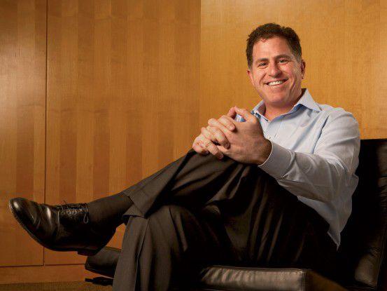 Hat wieder gut lachen: Dell-Gründer und -CEO Michael Dell