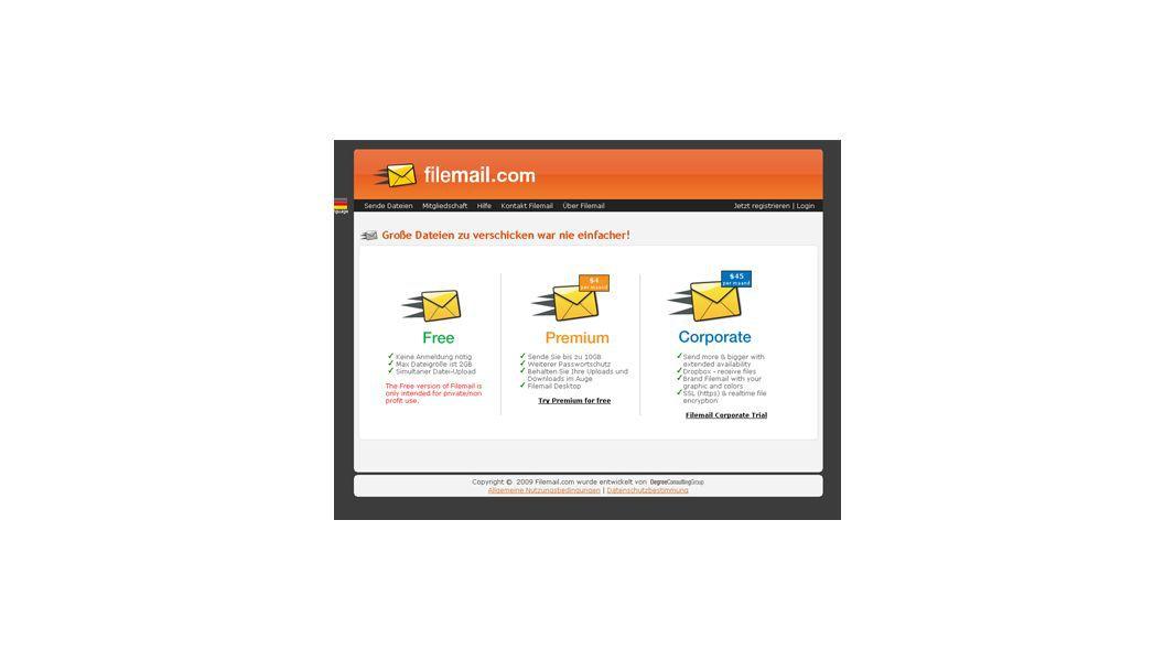 Filesharing Dienste