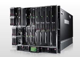 Kleinere Anwendungen laufen bei BASF auf kostengünstigen, flexibel einsetzbaren Blade-Servern.
