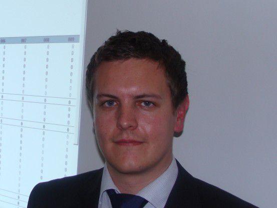 Stefan Schwanke betreute die Systemauswahl.