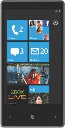 Microsoft zeigt erstes Smartphone der Windows Phone 7 Series.