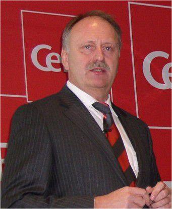Zufrieden mit der CeBIT 2010: Ernst Raue, Messechef.