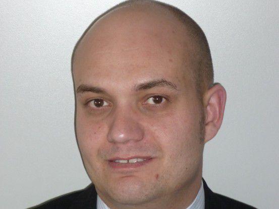 """Christoph Kurucz, Realtech: """"Der Arbeitgeber hat mich wohl wegen meiner Linux-Kenntnisse genommen."""""""
