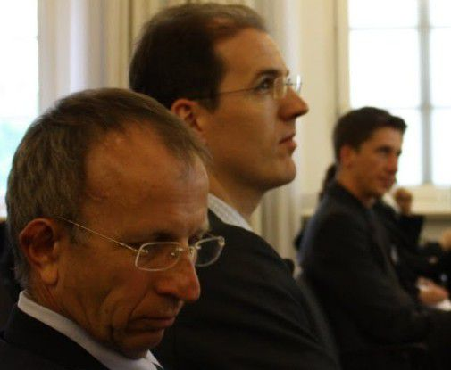 Walter Brenner (links) und Rüdiger Zarnekow. Foto: Ioana Petrescu