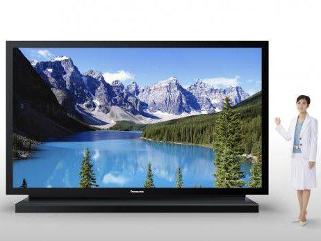 Panasonic präsentiert den weltgrößten Plasma-HD-Fernseher.