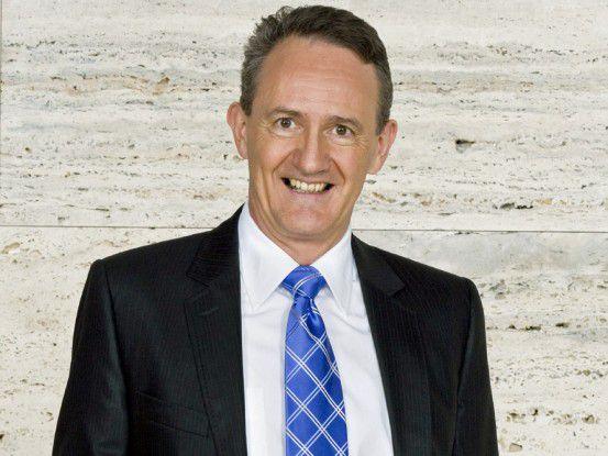 Dr. Erich Hunziker, CFO bei Roche Bild: Roche