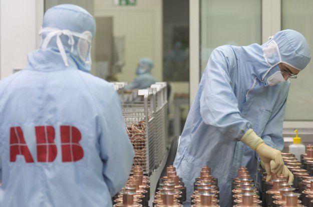 ABB-Produktion unter hochreinen Bedingungen in Ratingen