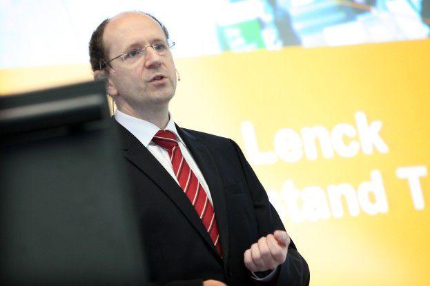 DSAG-Vorstandsmitglied Marco Lenck betonte das besondere Gewicht der deutschen SAP-Anwender. Diese hätten weltweit am meisten Erfahrung mit den Softwareprodukten aus Walldorf.