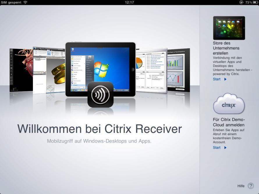 Bild Citrix Receiver