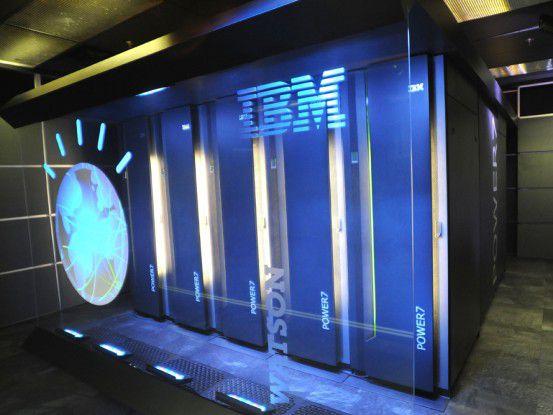 """IBMs """"Watson"""" ist für ein Computersystem ungewöhnlich """"intelligent""""."""