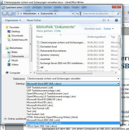 Word, Excel, Powerpoint: Dokumente konvertieren in OpenOffice ...