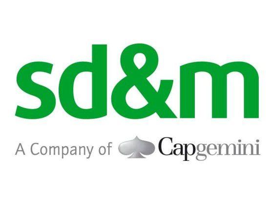 Das alte Logo von sd&m wird seit der Integration in den Capgemini-Konzern nicht mehr verwendet.