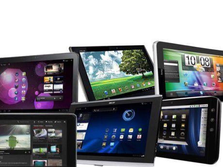 Auf der Überholspur: Tablets laufen Notebooks zunehmend den Rang ab.