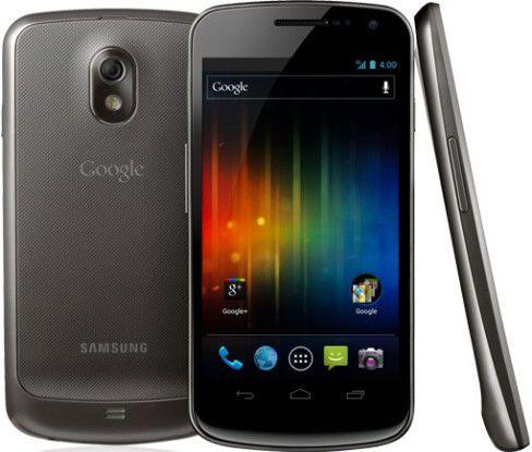 """Samsung baut auch das nächste offizielle Google-Smartphone """"Galaxy Nexus""""."""