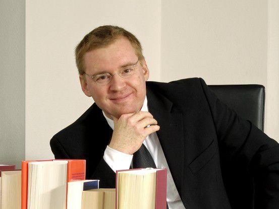 Michael Rödel, Vorstand Finanzen und IT bei der Bionorica SE.