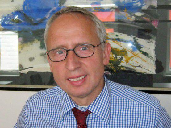 Reinhold Wittenberg, Leiter für IT, Controlling und Einkauf bei Aug. Prien