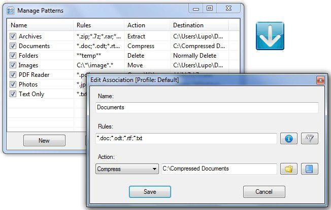 DropIT erleichtert den Umgang mit Dateien und wiederkehrenden Aufgaben.