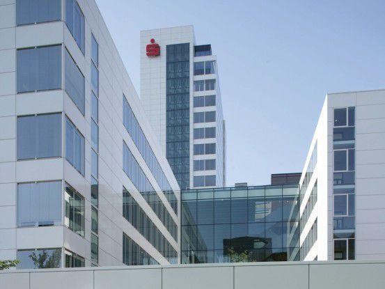 Die Finanz Informatik, hier das Firmengebäude in Frankfurt am Main, ist der internene IT-Dienstleister der Sparkassen-Organisation.