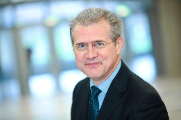 Karl Liebstückel, Vorstandsvorsitzender der Deutschsprachigen SAP-Anwendergruppe (DSAG)
