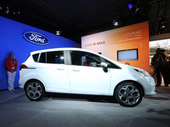 Der neue Ford B-MAX.