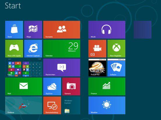 Windows ist in Version 8 erstmals für Touch-Bedienung optimiert.