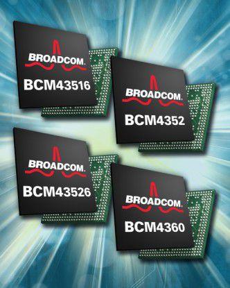 11ac-Chips von Broadcom