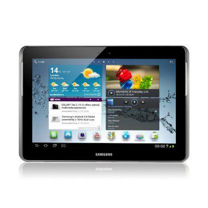 Das Samsung Galaxy Tab 2 10.1 weist - bis auf die Display-Größe - ähnliche Features wie das kleinere Schwestermodell auf.