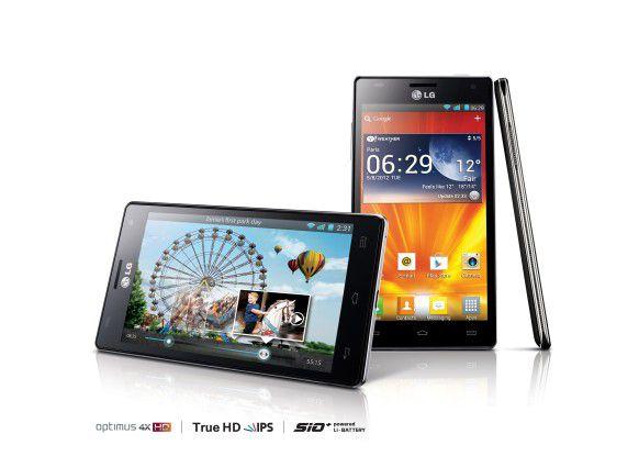 QuickMemo ist bereits Bestandteil der Benutzeroberfläche des LG-Flaggschiffs LG Optimus 4X HD