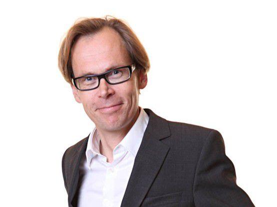 Kaj Arnö, SkySQL: Sein Unternehmen bietet professionellen Support für MySQL.