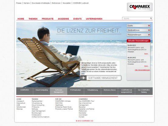 Anfang 2012 kaufte Comparex wieder zu und baute mit der Datalog-Übernahme sein Softwareangebot für Mittelstandskunden aus.