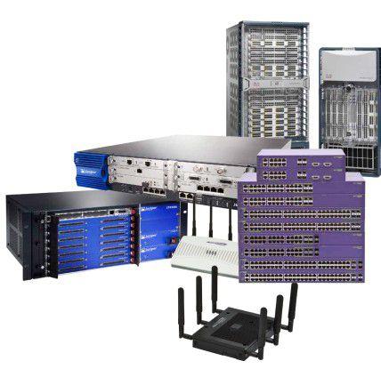 NHR wirbt für seine gebrauchte Netzhardware mit erheblichen Einsparungen.