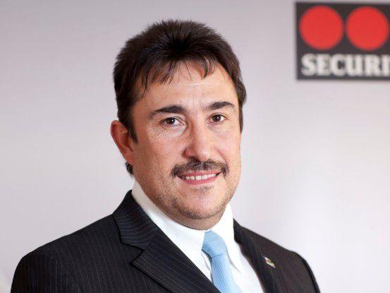 Antonio Valls Ruiz, IT-Leiter Securitas