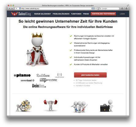 Salesking Invoice Online Erstellen Die Beste Rechnungs Software