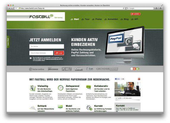 Fastbill Invoice Online Erstellen Die Beste Rechnungs Software