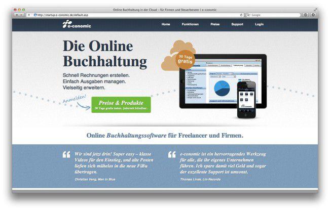 E Conomic Invoice Online Erstellen Die Beste Rechnungs Software
