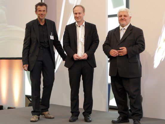 v.l.n.r. Martin Bayer, Redakteur Computerwoche; Martin Lange, Business Development Manager der Talend GmbH; Andreas Zilch, Vorstand und Lead Advisor der Experton Group AG.