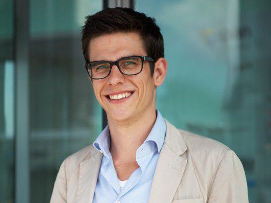 Patrick Wiebe ist einer der Gründer von explain.it, das Erklärfilme produziert.