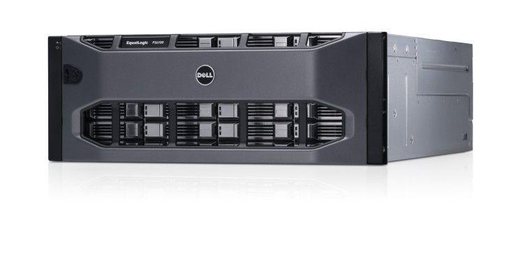 """Dells """"Equallogic ps6100"""" kann mit bis zu 9,6 TB an SSD-Speicher aufgerüstet werden."""