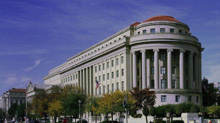 Apex Building in Washington, D.C., Dienstsitz der Federal Trade Commission (FTC)