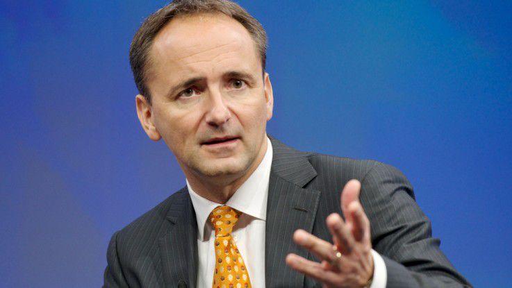 """""""Nichtstrategische Aufgaben wandern zuerst in die Cloud."""" Jim Hagemann Snabe, SAP"""