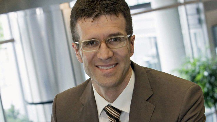 """Daimler-CIO Michael Gorriz: """"Weder haben wir den Outsourcing-Hype mitgemacht, noch betreiben wir massives Insourcing."""""""