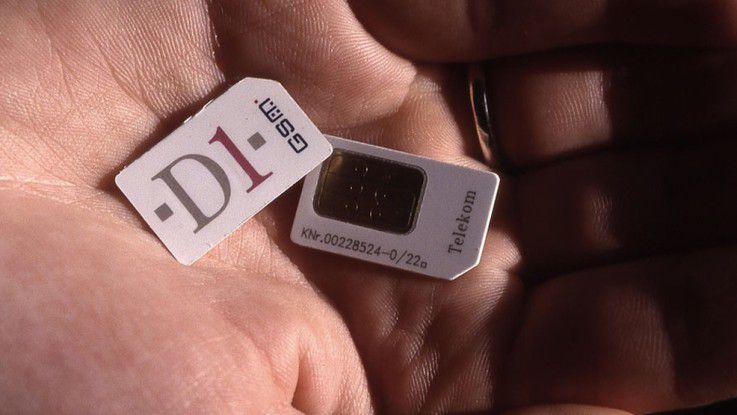 Start des D1-Netzes 1992: Dieser Chip machte es möglich, über D1 zu telefonieren