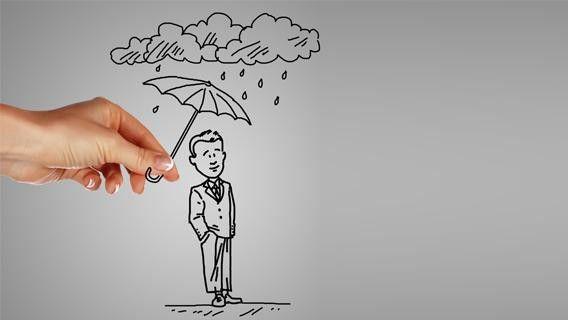Damit Freiberufler nicht im Regen stehen, bedarf es einiger politischer Änderungen.