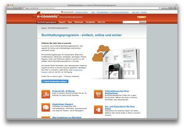 E-Conomic zählt laut Anbieter mehr als 40.000 Kunden weltweit.