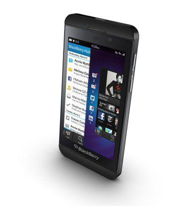 Das Blackberry Z10