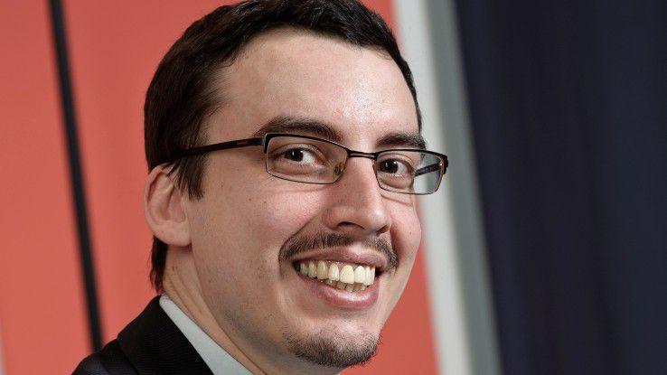 Clemens Blamauer stieg nach seinem Studium als IT-Berater bei Accenture ein.