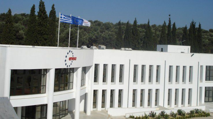 Die Enisa-Zentrale auf Kreta