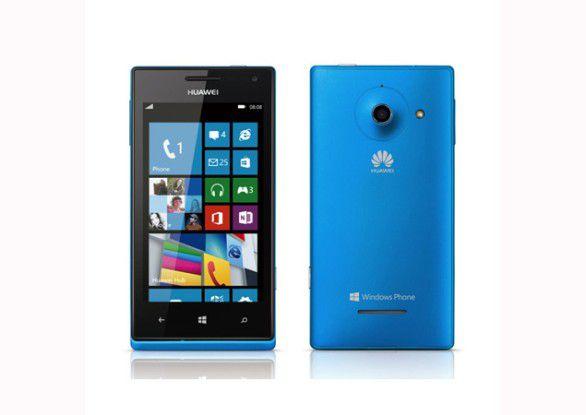 Das Huawei Ascend W1 ist das erste Windows Phone der Chinesen.
