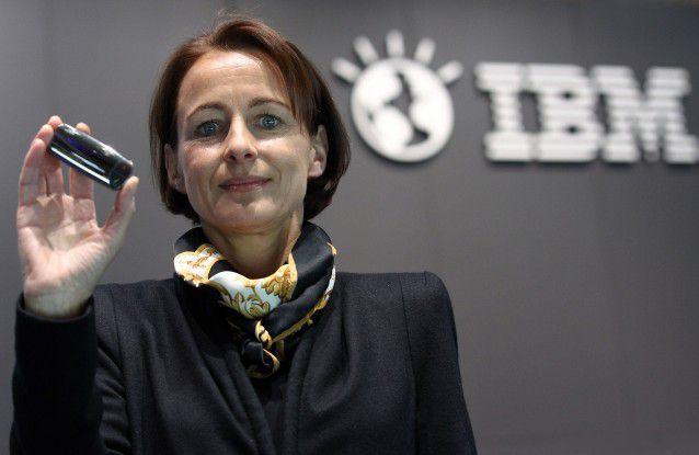 IBM-Deutschlandchefin Martina Koederitz (hier auf der CeBIT 2012)